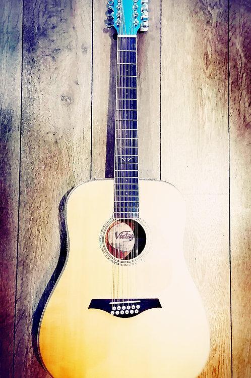 Vintage 12string Acoustic