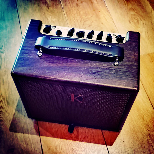 Kinsman 25w acoustic amp with fx battery/mains