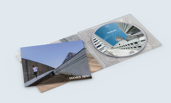 Pochette Album Livret GAB Hors-Jeu