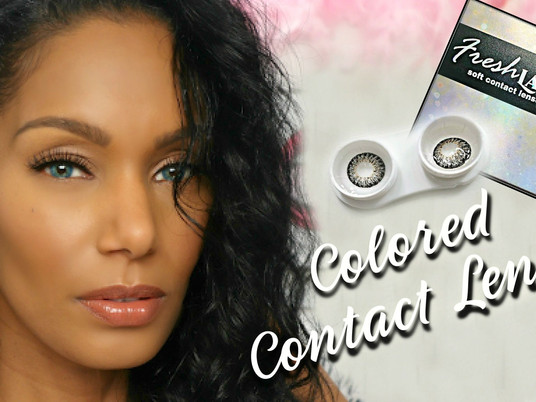 MUST-SEE Colored Contact Lenses from FreshLady Eye │TRY ON DEMO