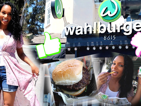 I WENT TO WAHLBURGERS IN LOS ANGELES! - YAY OR NAY?