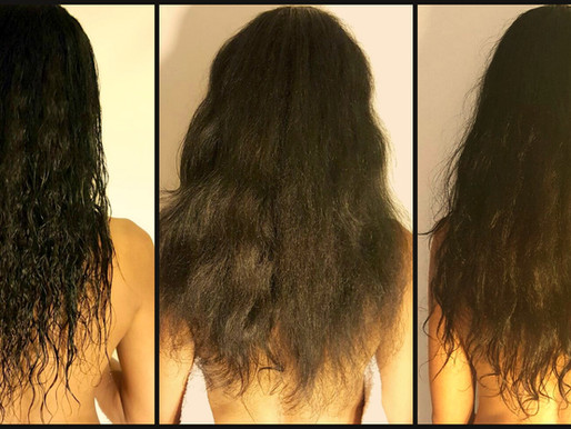 Review Time - Hungry Hair Oil Treatment