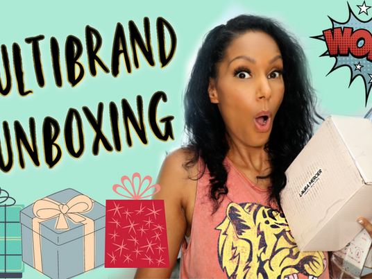 MULTI-BRAND UNBOXING │Free Things Influencers get - PR