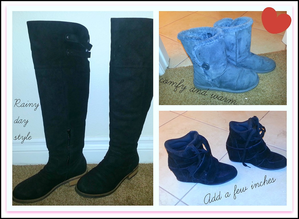 Kimberly Caines boots