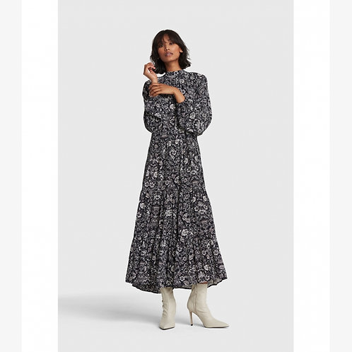 Alix the Label Flower Viscose Dress