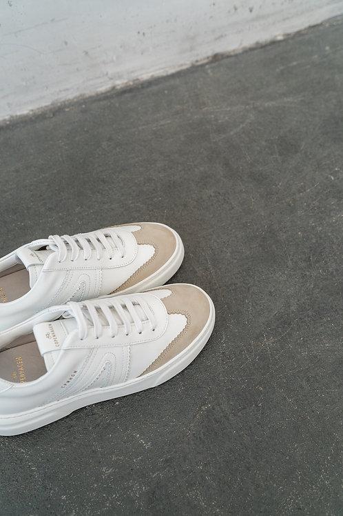 Copenhagen Vitello Crosta White Nature Sneaker