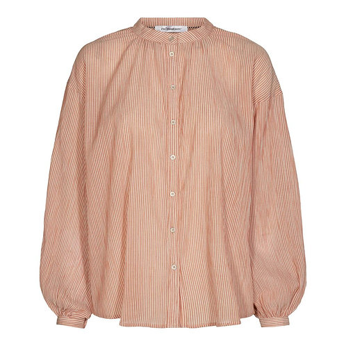 Co'Couture Celina Stripe Shirt Amber