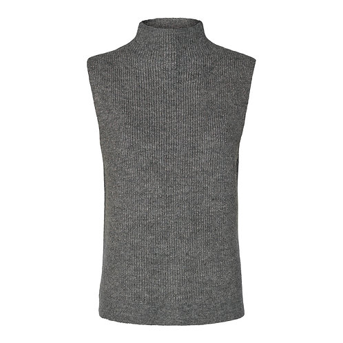 Co'Couture Soul Lurex Collar Vest