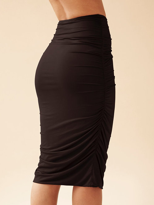 Olcay Gathered Skirt