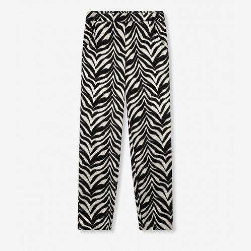 ALIX THE LABEL Zebra stretch pants