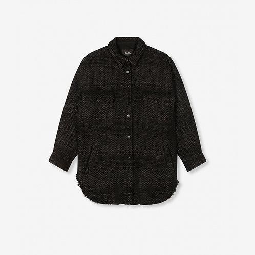 Alix The Label Oversized Shiny Bougle Jacket