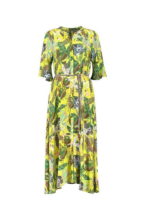 Pom Dress Jungle Beats Lemon