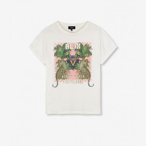 Alix The Label Acid Washed T-shirt