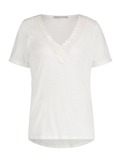 Aaiko Shawna Top White
