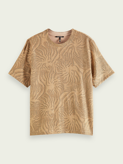 Scotch & Soda Printed Relaxed Fit Top