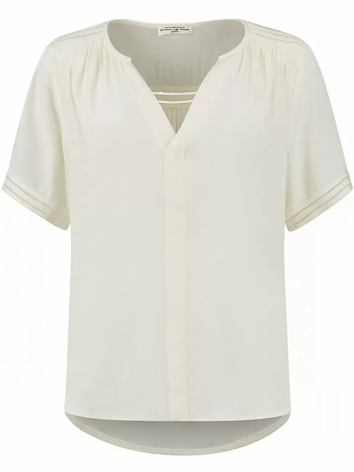 Circle of Trust Cristy Blouse Cloud White