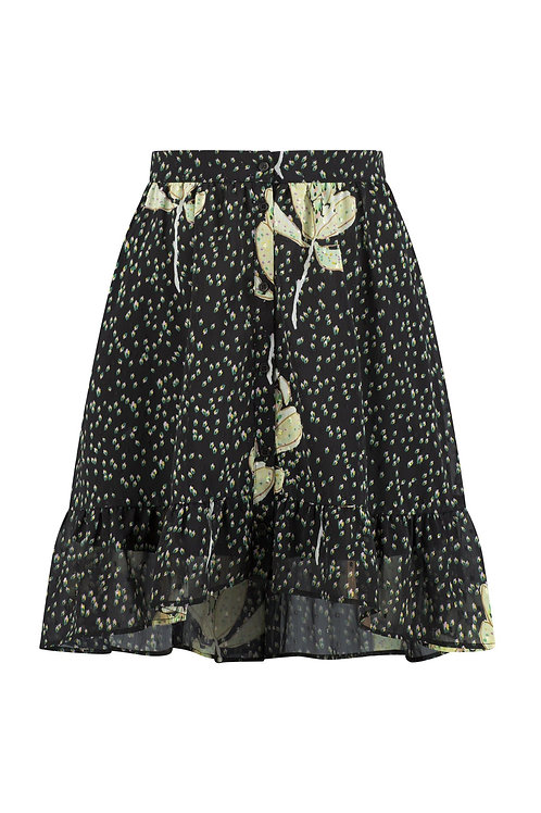 Pom Skirt Artichoke Kisses Dark