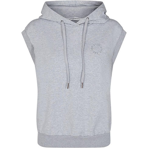 Co'Couture Rush Hoodie Vest Grey