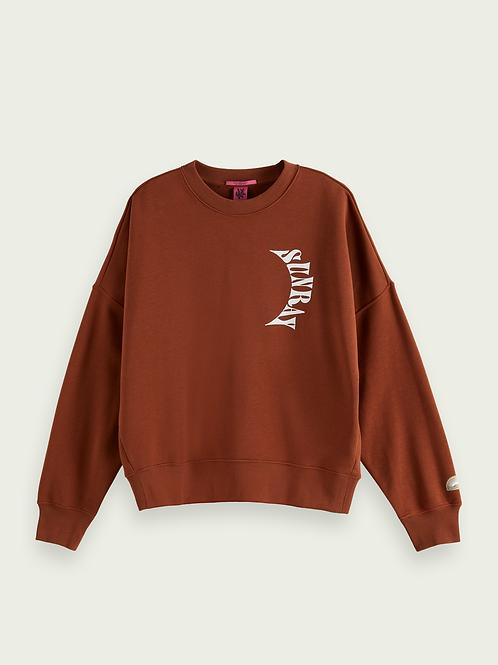 Scotch & Soda sweater with artwork
