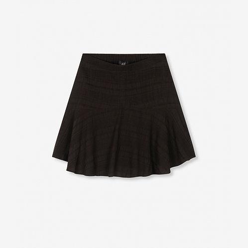 Alix The Label Seer Sucker Stripe Skirt