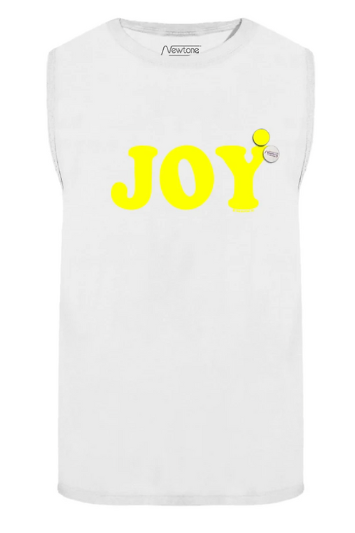 NewTone T-shirt Biker off white Joy