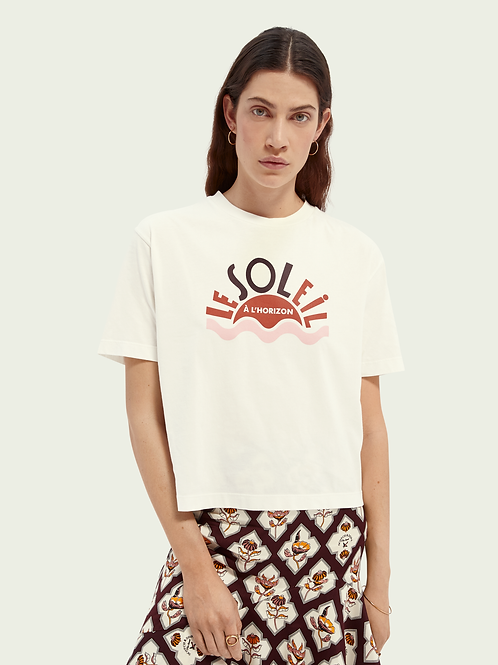 Scotch & Soda Relaxed Fit Tee Organic Cotton