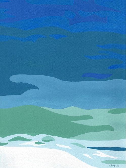 Cyan Sea