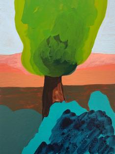 Turquoise + Paynes Bush