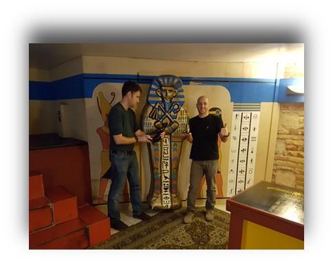 שוד הקזינו- בלוג- חדר בריחה בודפשט