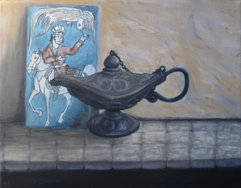 Lamp and Tile