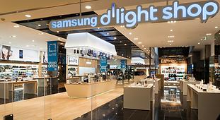Samsung d'light shop