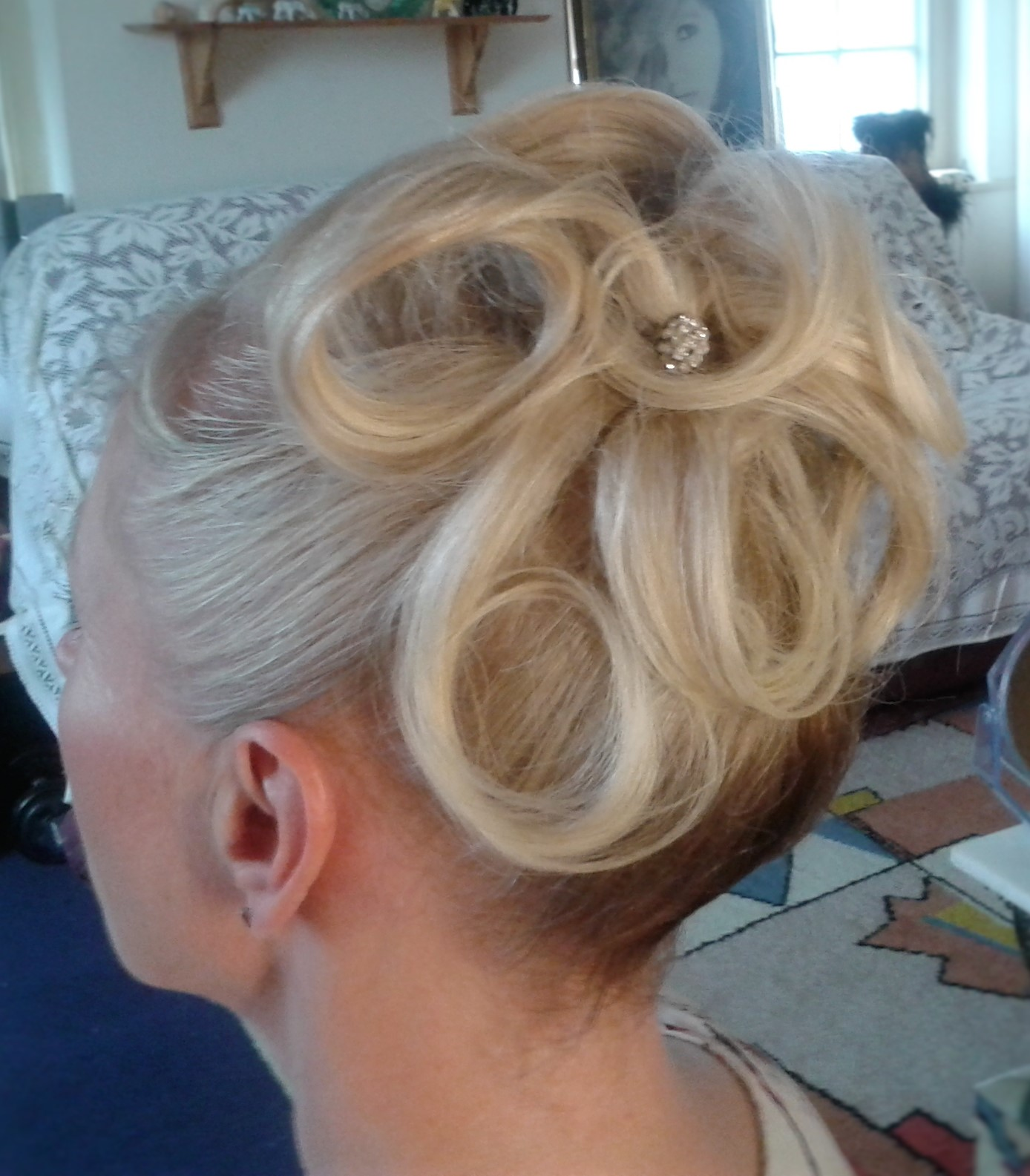 Wedding hair services SW7