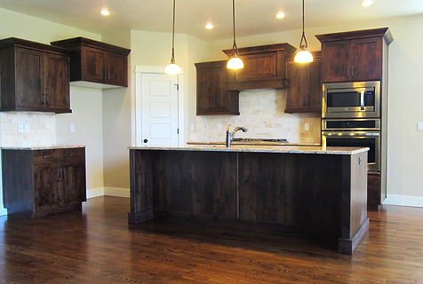 red oak development kitchen