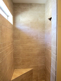 red oak development walk in shower