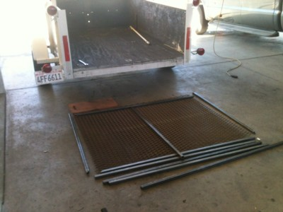Ramp and Gate Fabrication