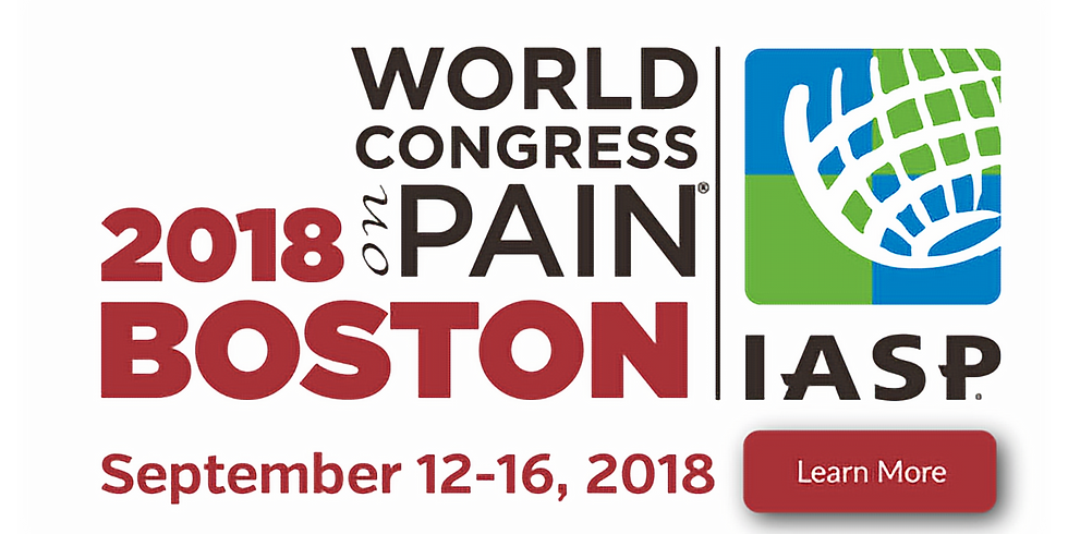 IASP - World Congress on Pain 2018
