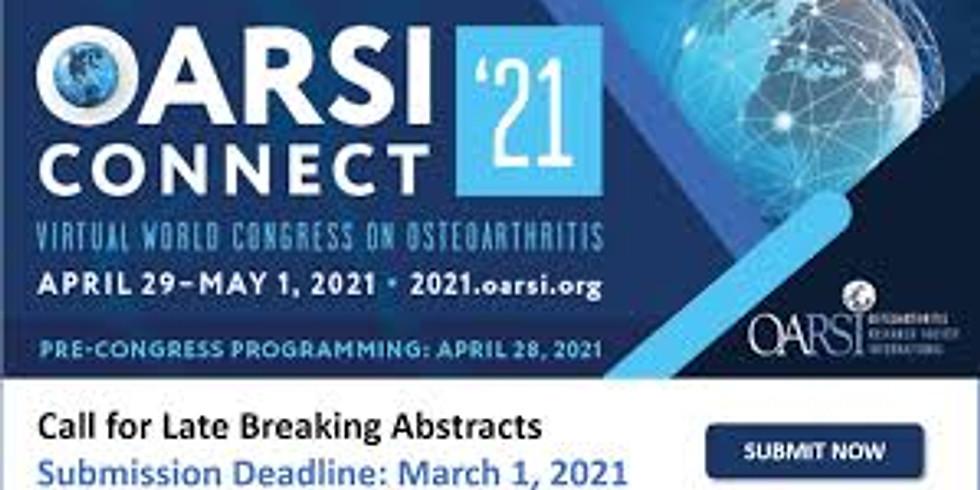 OARSI Conference - Osteoarthritis Research Society International (OARSI)