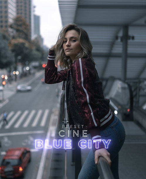 PRESET CINE BLUE CITY