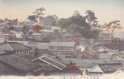 大徳寺より市街を望む