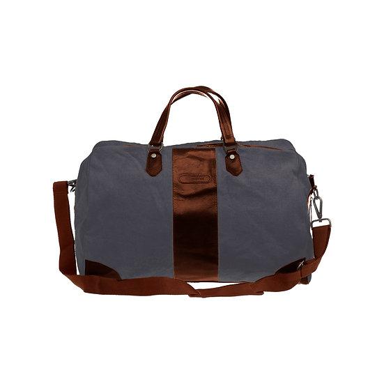Bespoke Graphite Canvas Duffle Bag