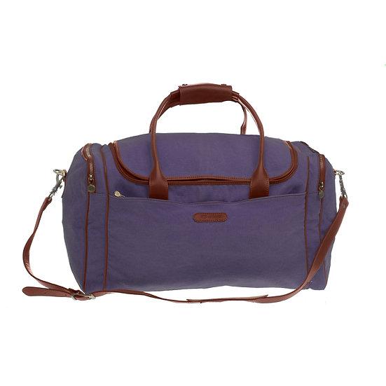 Bespoke Lavender Canvas Travel Bag