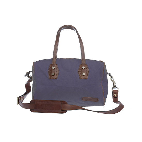 Bespoke Lavender Canvas Handbag
