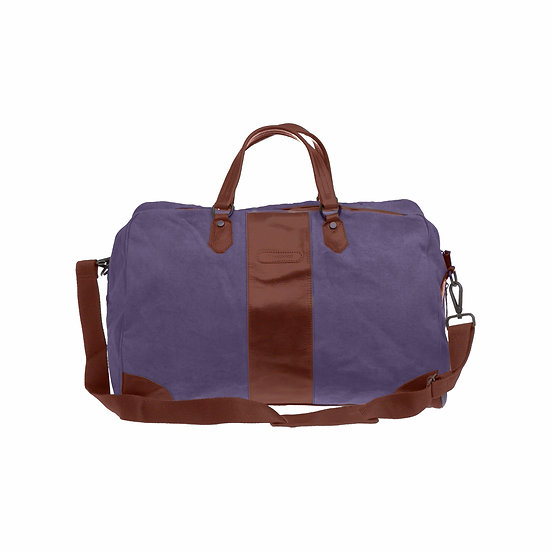 Bespoke Lavender Canvas Duffle Bag