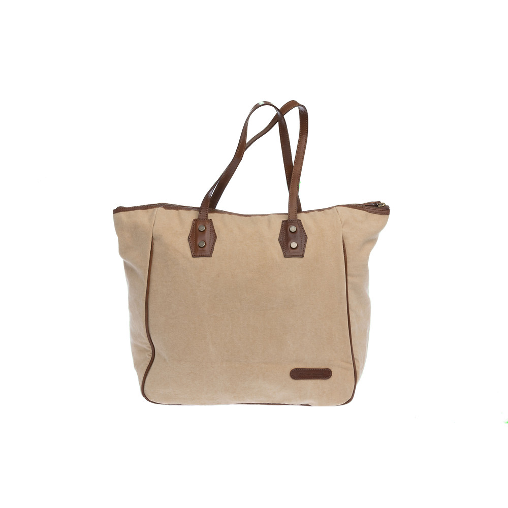 Westwood Sand Canvas Tote Bag