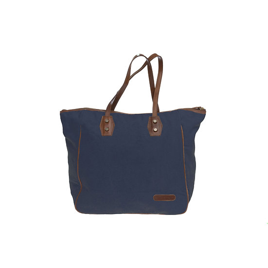 Bespoke Indigo Canvas Tote Bag