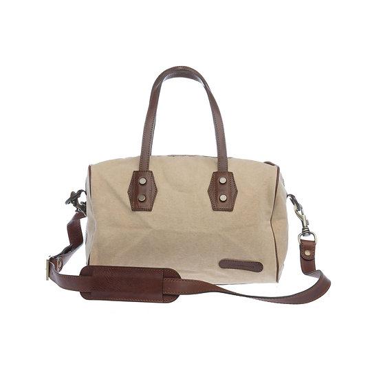Bespoke Sand Canvas Handbag