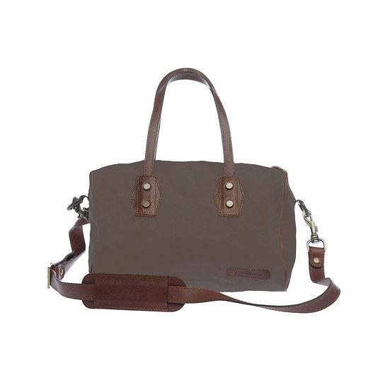 Bespoke Khaki Canvas Handbag