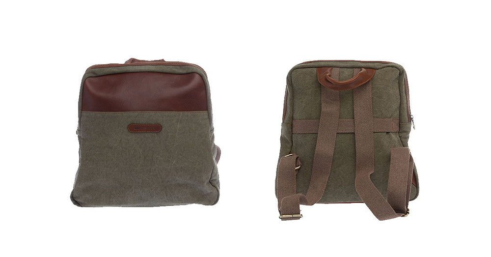 Westwood Green Canvas Rucksack