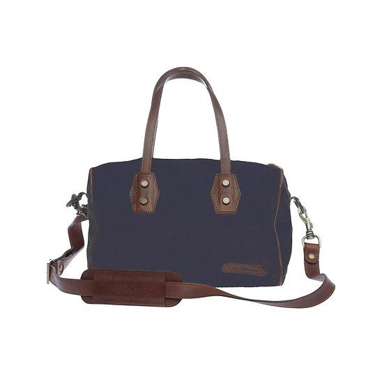 Bespoke Indigo Canvas Handbag