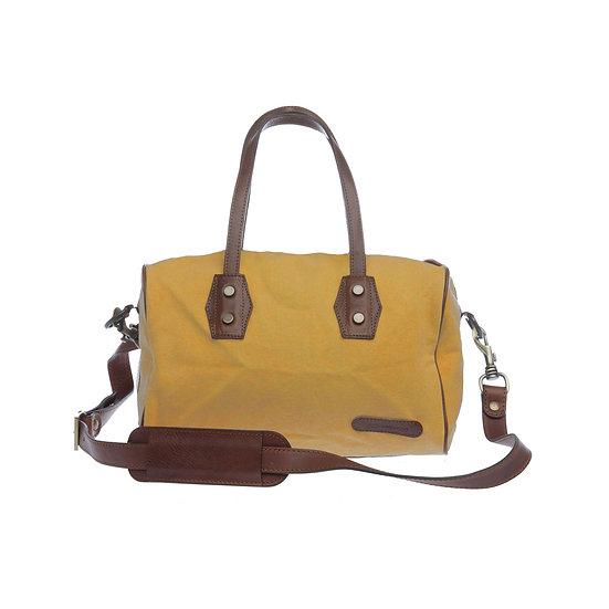 Bespoke Charteuse Canvas Handbag